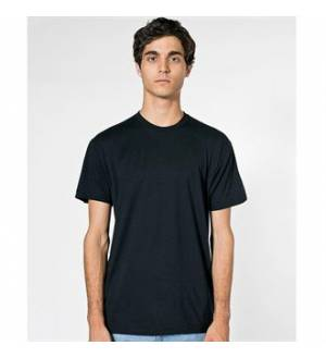 American Apparel Fine Crew Neck T